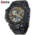 Nuevos hombres de la Marca de Lujo T8073 G de Choque Estilo Divertido Natación Deportes Analógicas y Digitales Negro Moda LED Reloj Hombre Montre Homme Reloj