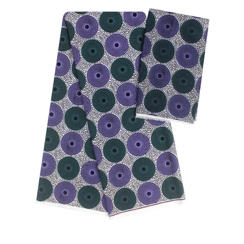 Hot selling satin silk fabric 4+2 yards/lot colorfast Nigrian design African wax pattern satin silk fabric for clothing YBG52511Hot selling satin silk fabric 4+2 yards/lot colorfast Nigrian design African wax pattern satin silk fabric for clothing YBG52511