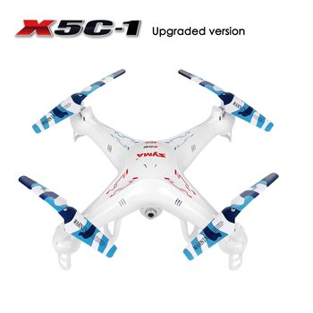 RC Quadcopter,Upgraded X5C-1 Syma Explorer 2.4GHz 6 Axis Gyro 4CH RC Drone with 2 Megapixels Camera+ 4pcs Extra Propeller Blades
