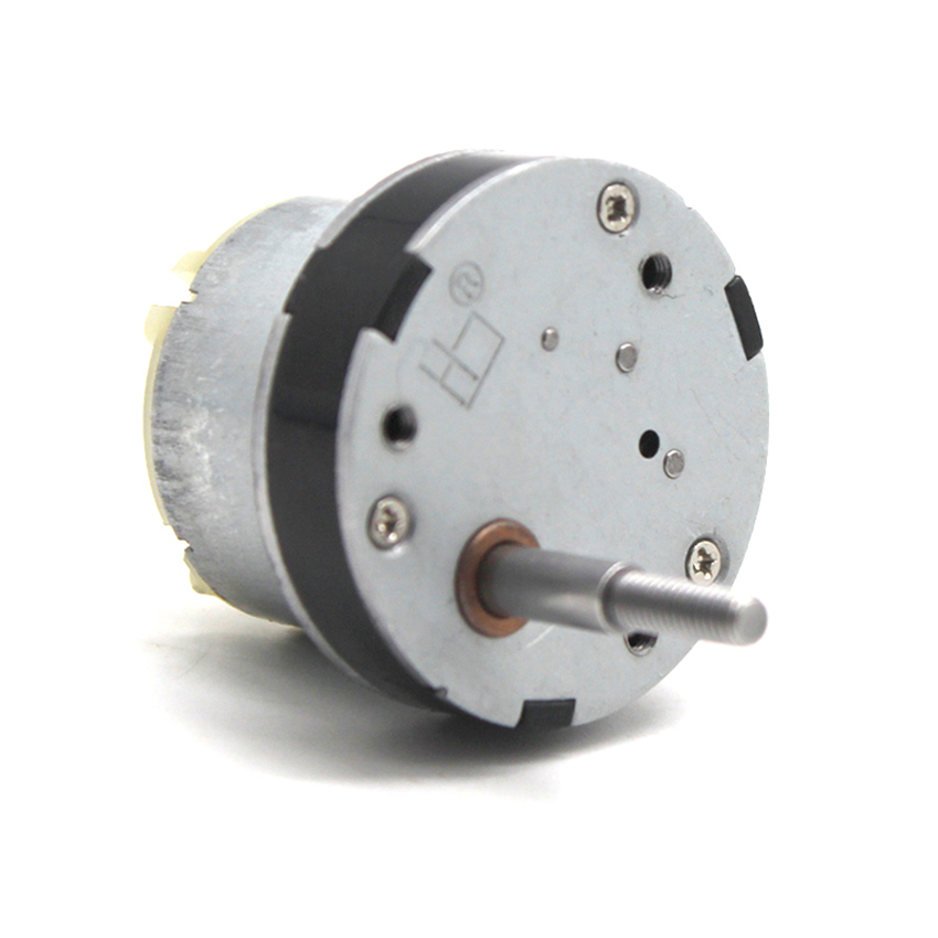 12V DC Motor For Toy Low Speed 10RPM 500 Geared Motor 5mm Threaded Shaft For DIY Intelligent Robot