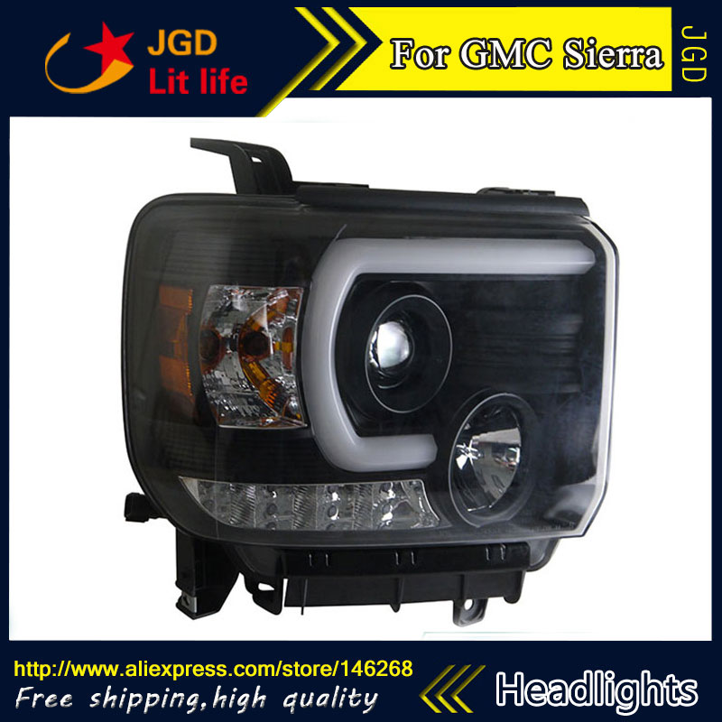 Free Shipping   Car Styling Led Hid Rio Led Headlights