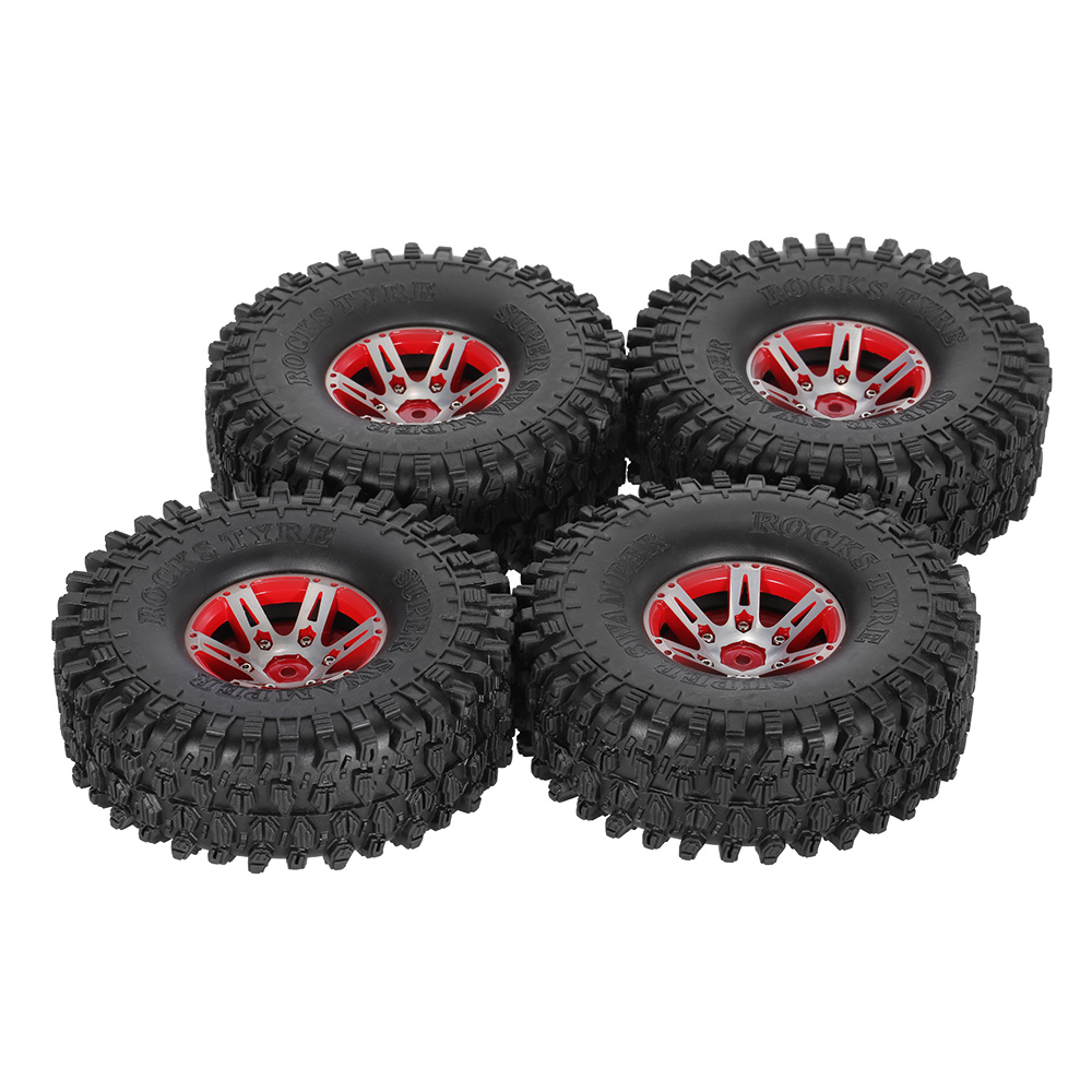 4Pcs AUSTAR AX 5020B 1 9 Inch 1 10 RC Car Tire Rock Crawler Tires with