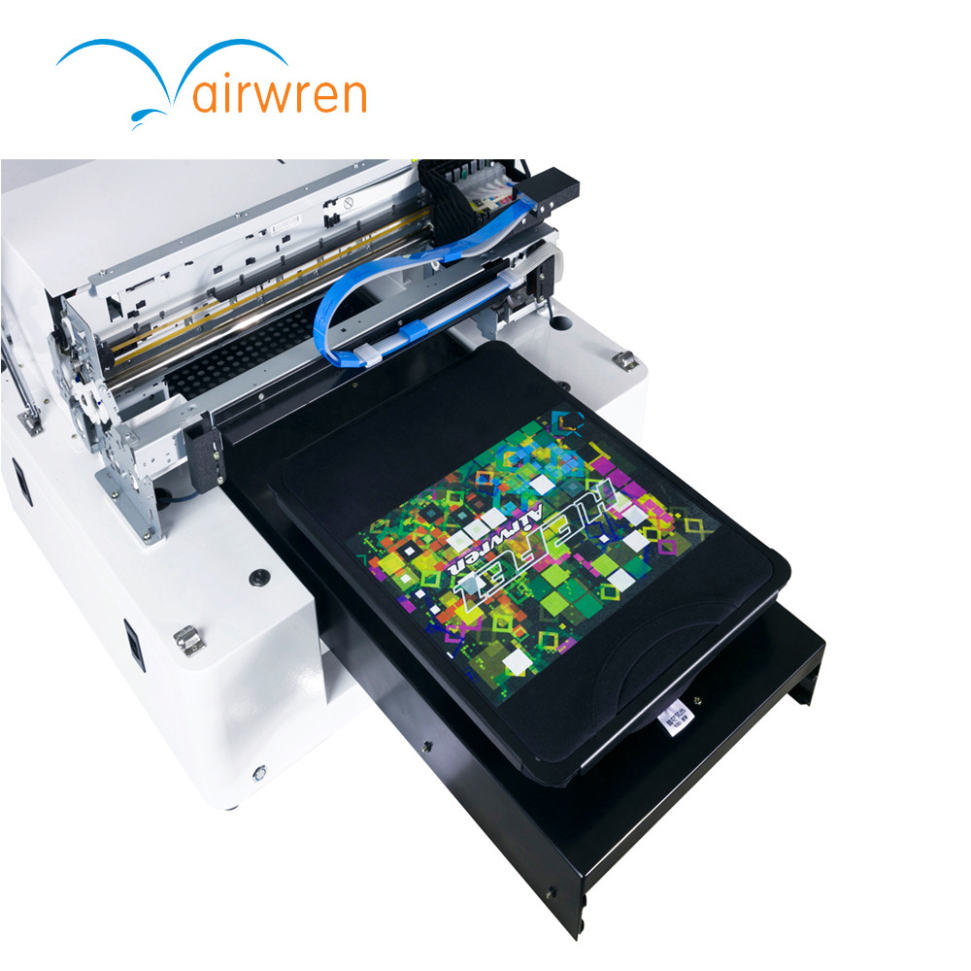 Dtg Diy Multicolor T-shirt Printing Machine 3d T Shirt Printer Ar-t500 With A3 Size striped plus size t shirt with applique