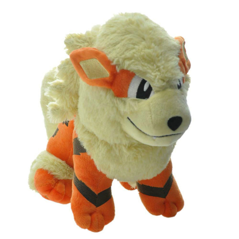Big Arcanine Animal Dolls, 19 CM Baby Plush Toys,Children Toys ,Cute Pocket Plush Toys Send Kids As Gift With Free Shipping