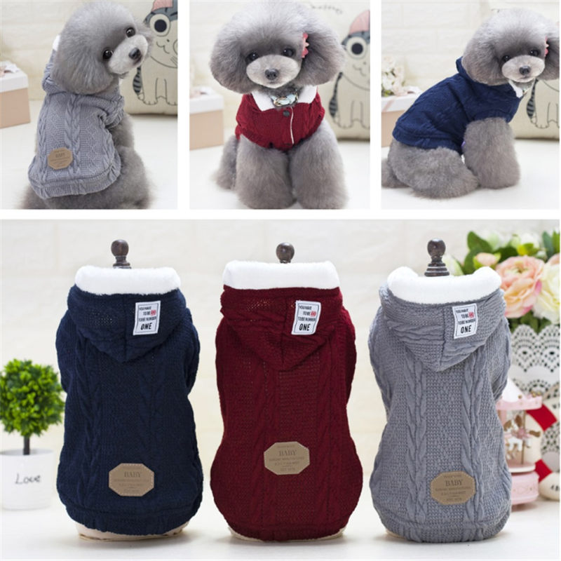 Hot sale Puppy Pet Dog Clothes Sweat dog clothes for small dogs Summer Yorkie dog chihuahua ropa para in Dog Coats Jackets from Home Garden
