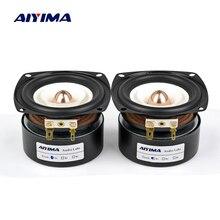 AIYIMA 2 шт. 3 дюймов полный спектр Динамик s 4, 8 Ом 15 Вт громкий Динамик НЧ СЧ звук Динамик для домашний усилитель аудио