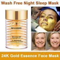 24K Active Gold Anti Aging Wash Free Facial Sleep Mask Eliminate Wrinkle Cream Firming Skin Whitening