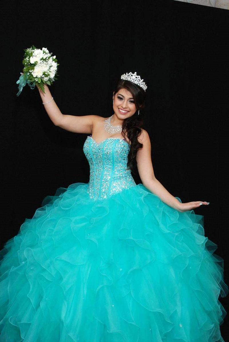 Quinceanera Dresses Turquoise Promotion-Shop for Promotional ...
