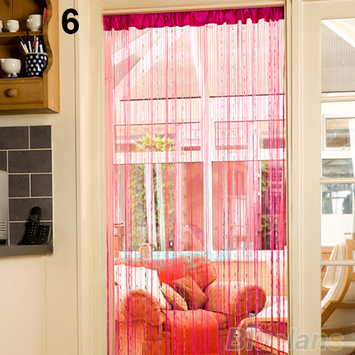 Teardrop Beaded String Door Curtain Fly Screen Divider Room Window ...