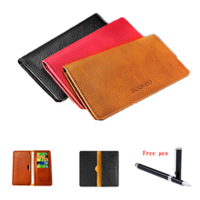 Handbag PU Leather Wallet Pouch Cover For ZTE NUBIA Z11 5.5″ Case Fashion Universal 5.5 inch Mobile Phone Bags + Touch Pen