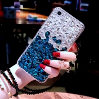For Samsung Galaxy S9 Bling Diamond Case Rhinestone Stone Jewelled Cover Case For Samsung Galaxy S9