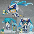 Cute Nendoroid 2016 Hatsune Miku Snow Miku 570# PVC Action Figure Collectible Model Toy 10cm KT2260
