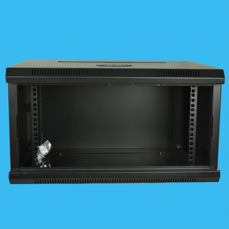 6U petites armoires réseau mur arche l'armoire de commutation surveillant l'armoire hôte fibre optique routage armoires multimédia