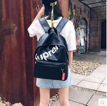 10 대 소녀를위한 새로운 도착 학생 배낭 Preppy 스타일 디자이너 새로운 패션 중학교 PU 가죽 브랜드 여성 백