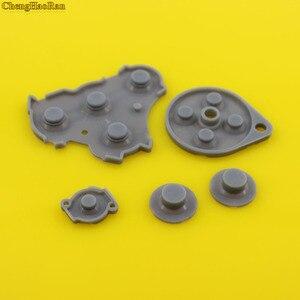 Image 2 - 30 100 zestawy dla NGC GC silikonowy guzik wymiana części gumowe dla kontrolera Nintendo GameCube gry B X Y gumowe