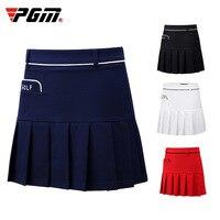 PGM Women Skort Golf Skirt Ladies Pleated Short Skirt Summer Badminton Sports Skirt Pleated School Tennis Skirts D0706