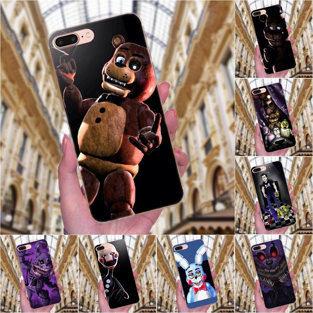 TPU Mobile Phone <font><b>Case</b></font> Cover Five Nights At Freddy's Fnaf Freddy For <font><b>Huawei</b></font> Mate 7 8 9 10 20 P8 <font><b>P9</b></font> P10 P20 P30 <font><b>Lite</b></font> Plus Pro 2017 image