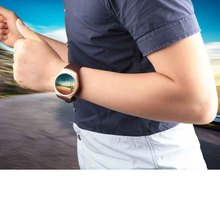 Kingwear Smartwatch KW18 1.3″ round screen support Heart Rate Monitor Compass Wearable Devices Smart Watch For  Android PK KW88