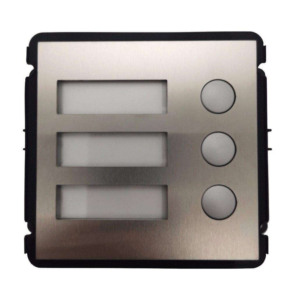 AHUA VTO2000A-B Module de bouton pour VTO2000A-C, pièces de sonnette IP, pièces d'interphone vidéo, pièces de contrôle d'accès, pièces de sonnette