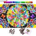 MOMEMO Colore Fiori Che Sbocciano 1500 Pezzo di Puzzle del Puzzle Gigante Difficile di Legno Di Puzzle Adulti 1500 Pezzi Colore Sfida Di Puzzle