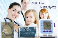 2018 NewCONTEC08C with Child Pediatric SPO2 sensor Digital Automatic NIBP vet Blood Pressure Monitor Sphygmomanometer Free Shipp
