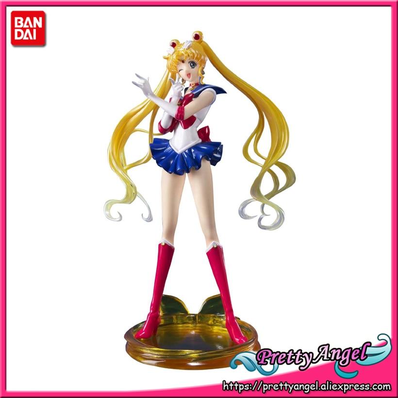 PrettyAngel Genuine Bandai Tamashii Nations Figuarts Zero Pretty Guardian Sailor Crystal Sailor Moon Action Figure