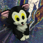 Pinocchio Figaro Cat Plush Stuffed Animal Black cat Toy 15cm