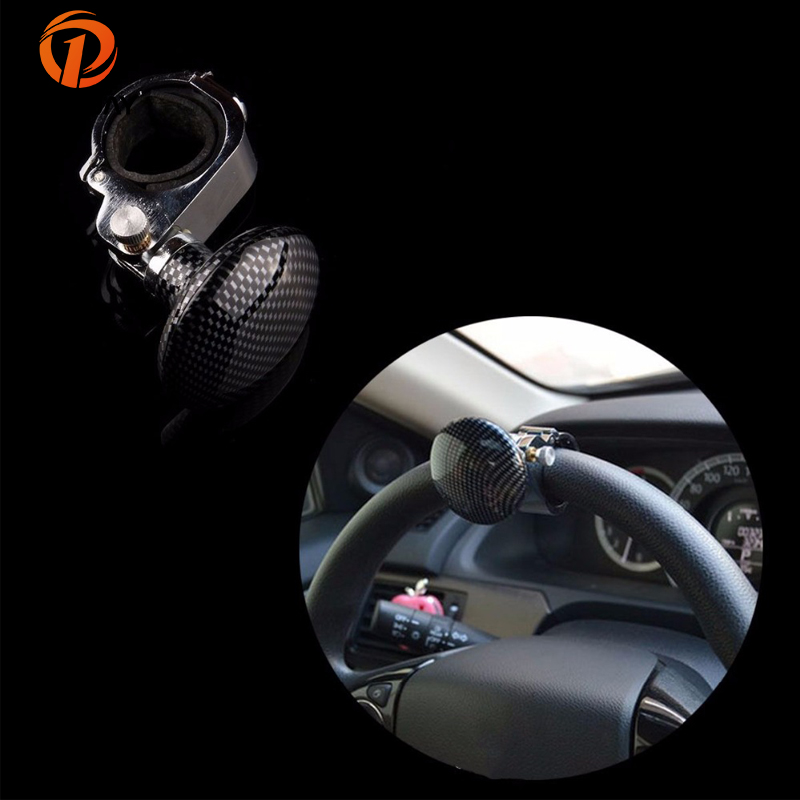 Automobiles & Motorcycles Controllers Auto Car Steering Wheel Aid Spinner Spin Clamp Knob Ball Booster Black 85*55mm 100% High Quality Materials