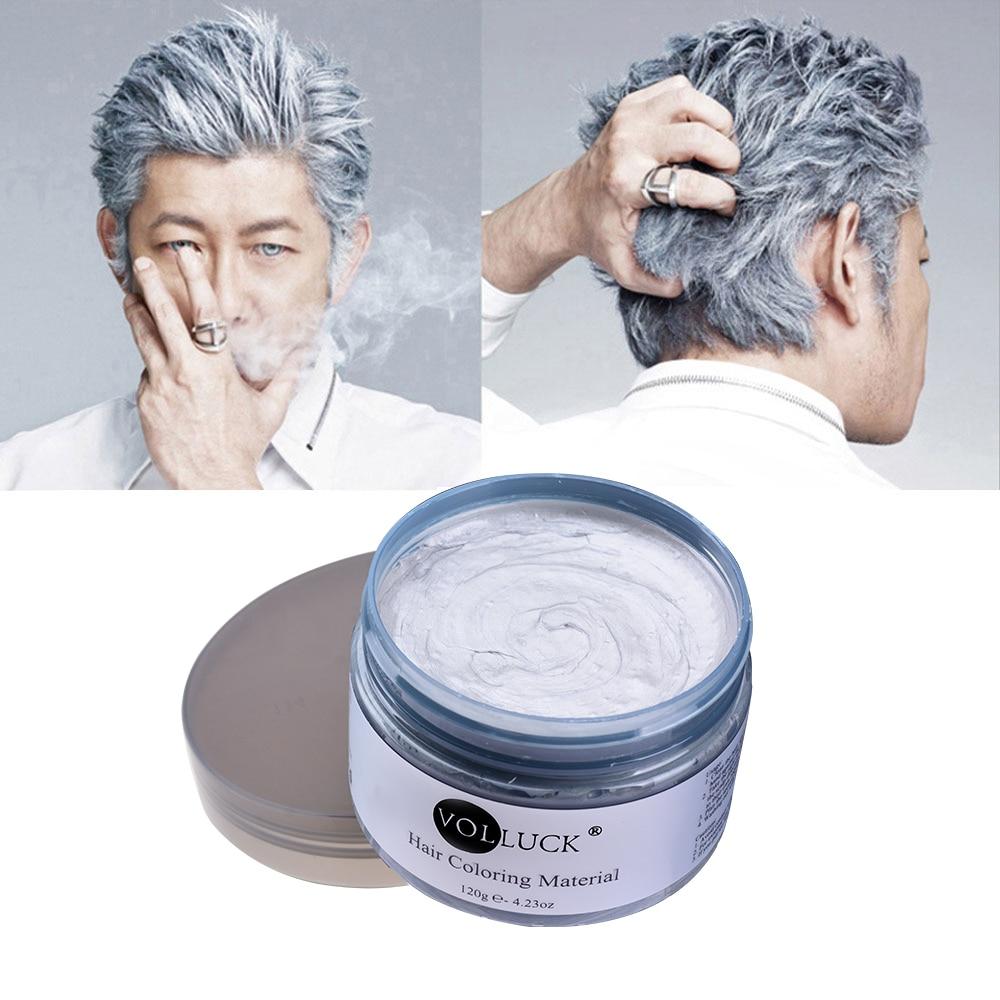 Dylli për flokë me ngjyrë Stilimi Pomade Argjendë Grandma Grey - Kujdesi dhe stilimi i flokëve