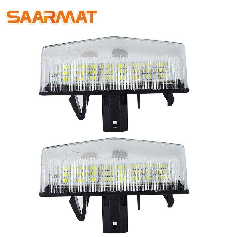Diodo emissor de luz canbus nenhuma base de luzes da placa de licença do erro para toyota prius v-zvw41 11.06 bulbs (3rd generation) lâmpadas do número de automóvel branco @ 12 v