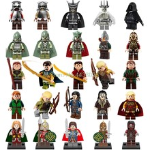 The Lord Of The Rings Legoing Figure Gandalf Thranduil Elrond Galadriel Merry Arwen Building Blocks Toys Hobbit Figures Legoings(China)