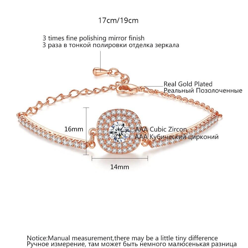Luoteemi Brand Link Bracelet Сердца и стрелы хрусталя циркон браслет для женщин высокое качество ссылка браслеты оптом
