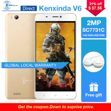 Kenxinda V6 3G 4.5″ Smartphone Android 7.0 1GB Ram 8GB Rom Quad Core 1700mAh Battery Dual Sim Cards Mobile Phone Gray/Gold Color
