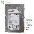 Seagete жесткий диск 2 ТБ настольный компьютер HDD 3 5