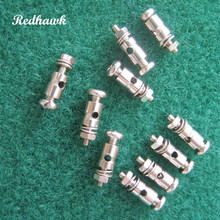 50pcs RC Plane Parts Replacement Pushrod Connectors Linkage Stoppers D1 3 1 8 2 1mm For