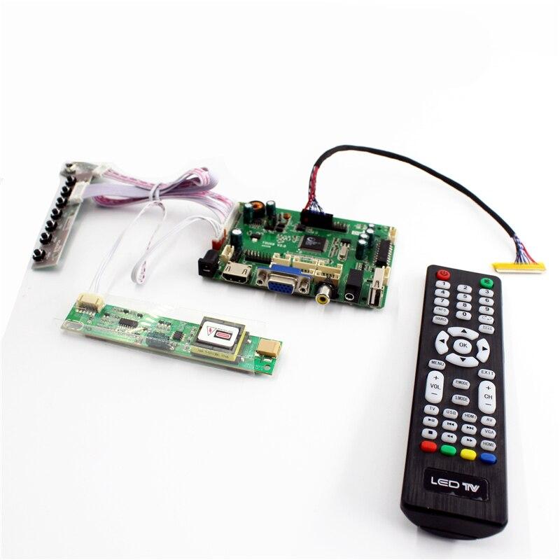 Video Games Open-Minded Tsux9 V2.0 Hdmi Vga Audio Av Usb Lcd Controller Board Lvds Panel 15 Inch 1024x768 N150x4-l01 Lp150x08-tla6 B150xg05 V2 Diy High Quality Materials