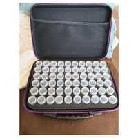 15/30/60 bouteilles diamant peinture point de croix accessoires boîte à outils conteneur diamant stockage plein carré 5D broderie mosaïque