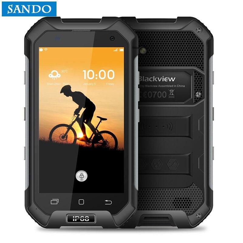 Original Blackview BV6000 MTK6755 4.7HD Octa Core 4G LTE Waterproof Android 6.0 SmartPhone 3GB RAM 32GB ROM 13.0MP GPS