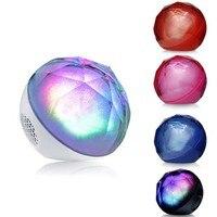 Sıcak Satış Kablosuz Bluetooth Hoparlör Mini LED Kristal Magic Ball Uzaktan Kumanda F ile Mini Taşınabilir Hoparlör Bluetooth