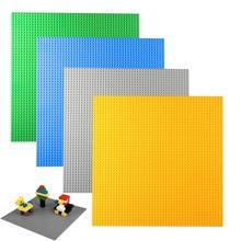 2016 Brand New Fashion Big Size 40*40cm Blocks DIY Baseplate with 50*50 dot Minifigures Bricks Base Compatible With Legoe