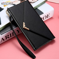 5 5 Inch Universal Elegant PU Leather Case Multi Functional Woman Phone Bag For Iphone 5