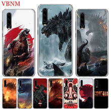 Godzilla Gojira Special Soft Phone Case For Huawei P30 P20 Mate 20 10 Pro P10 lite P Smart + Plus Z 2019 Customized Cover Cases