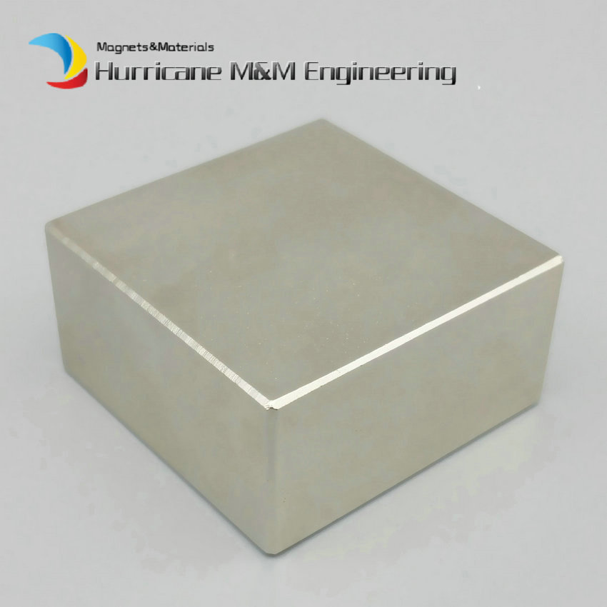 1 Pack NdFeB Block 40x40x20 (+/-1)mm Water Filter Strong magnet Neodymium Rare Earth Permanent Magnets Grade N42 NiCuNi Plated revlon professional 8 34 краска для волос светлый блондин золотисто медный rp revlonissimo colorsmetique 60мл