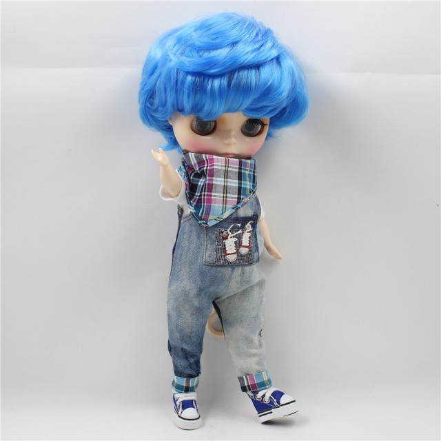 Suit Clothes For Plump Blyth Jeans White Shirt and Scarf Free Shipping