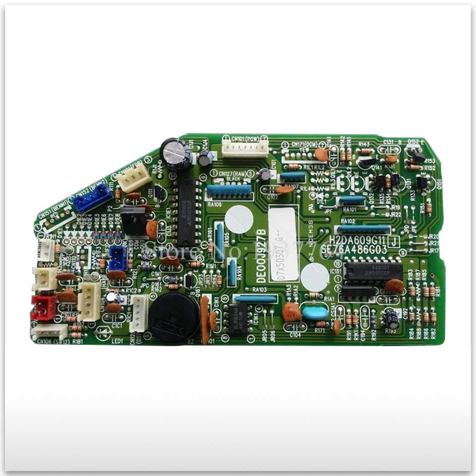 95% new for Mitsubishi Air conditioning computer board circuit board DE00J927B H2DA609G11 good working 95% new good working for mitsubishi air conditioning computer board pja505a082 a control board 90% new