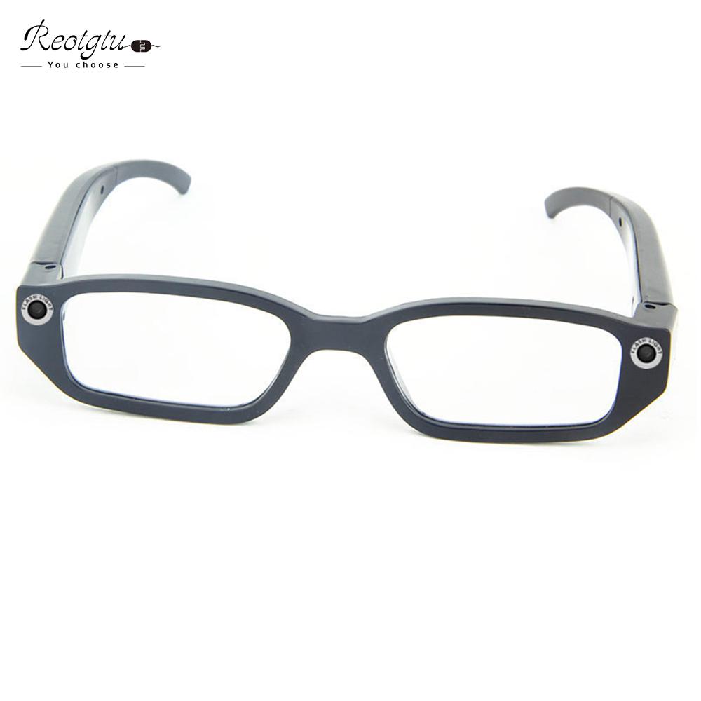 Prix pour Fashon Auto-règlement lunettes de soleil sport intelligent lunettes 720 p enregistreur vidéo vélo enregistreur Mini Caméscopes