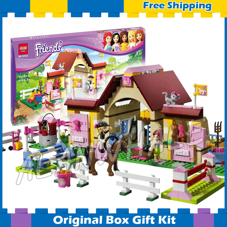 400pcs Bela 10163 Girl friends Series Mia Katherine minifigures toys Mia s Farm Experience sets toys