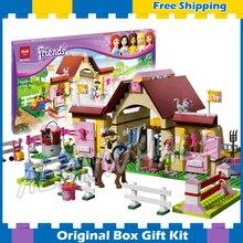 400pcs Bela 10163 Girl friends Series Mia Katherine minifigures toys Mia s Farm Experience sets toys