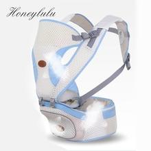 Honeylulu 3D Breathable Mesh Baby Carrier Multifunctional Sling For Newborns Kangaroo Ergoryukzak Carrying Children