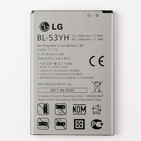 New Original LG BL 53YH Battery For LG Optimus G3 D850 D851 D855 LS990 D830 VS985